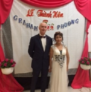 Graham and Phuong wedding brisbane