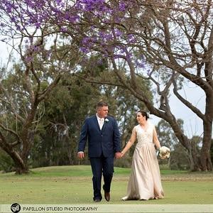 Johanna and Nathan Wynnum Golf Course Wedding