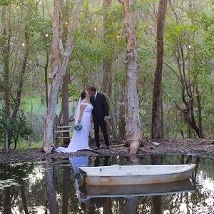 Julie and Lee at Macarthur Park Wedding Gardens with Gwen Inglis Wedding Celebrant Brisbane