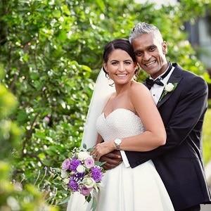 Karen and Samir at Victoria Park Golf Complex with Gwen Inglis Wedding Celebrant Brisbane
