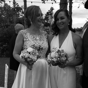 Kristie-and-Rachel-The-Court-House-Restaurant-with-gwen-inglis-marriage-celebrant-brisbane