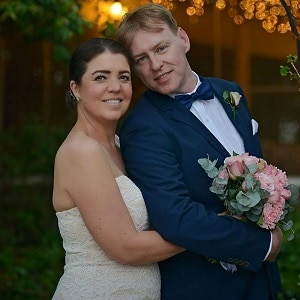 Lynda and Alastair wedding ceremony at The Court House Restaurant with Gwen Inglis Wedding Celebrant Brisbane
